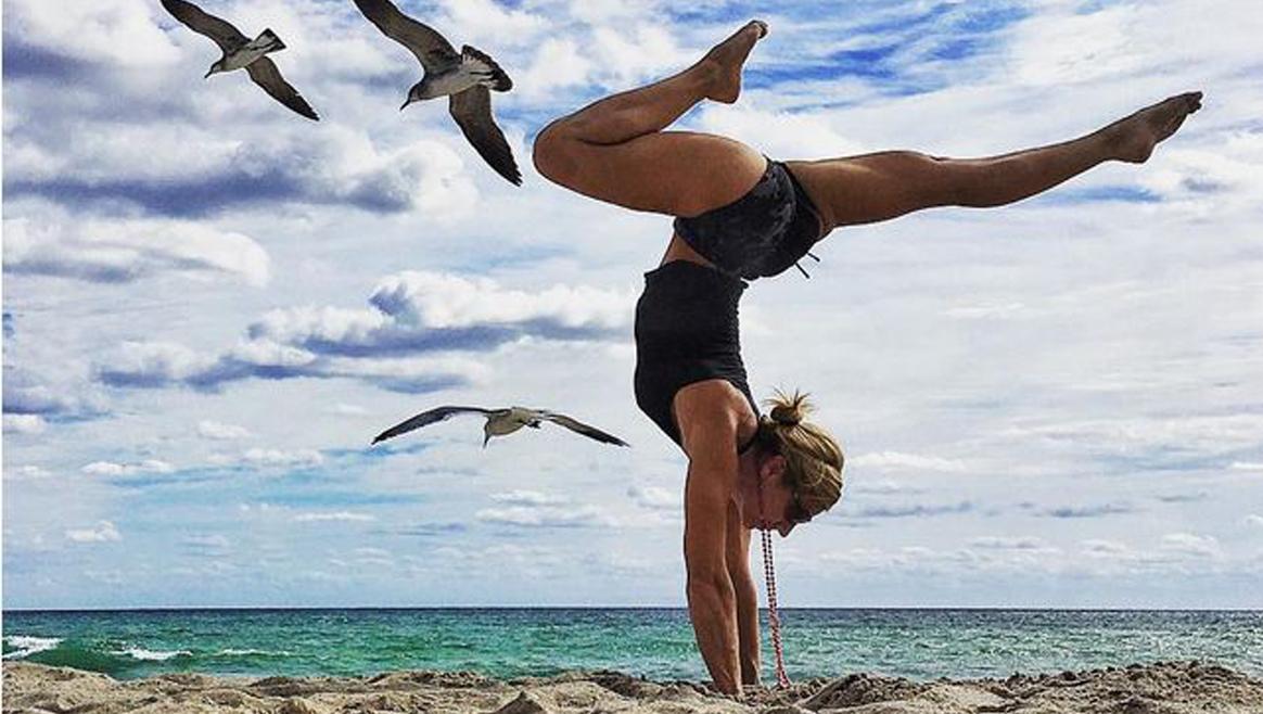 Yoga-Göttinnen im Netz  (Bild: Instagram)