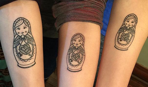 Tattoos Verbinden