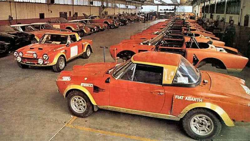 Abarth 124 Rally Der Renn Spider Mit 300 Ps Fiat Meint