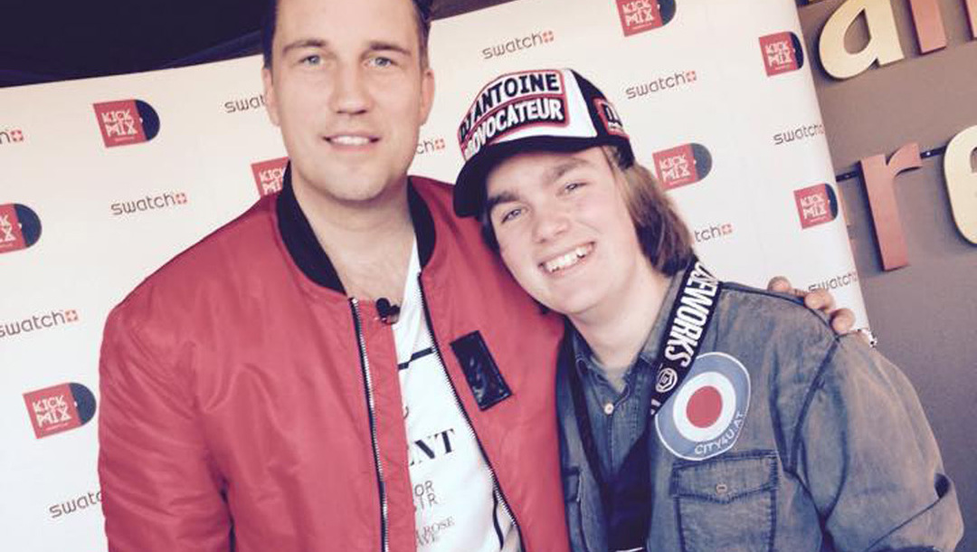 City4U-Gewinner traf Star-DJ Antoine  (Bild: City4U)
