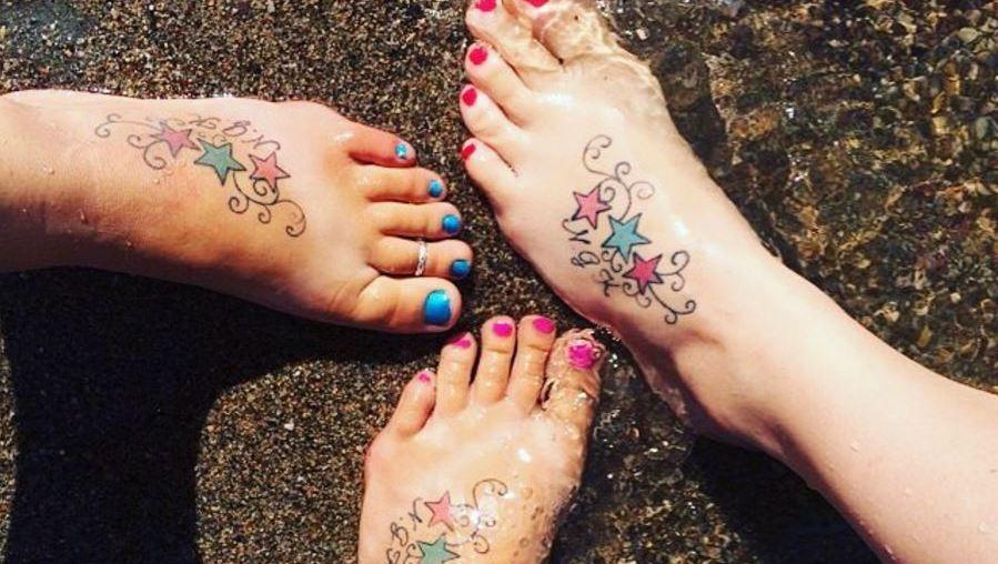 Die 15 schönsten Geschwister-Tattoos  (Bild: instagram.com/motomommatwiy)