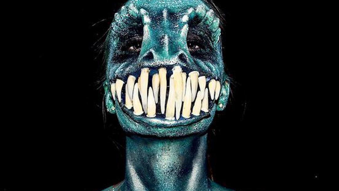 16-jährige schminkt sich zum Monster  (Bild: Instagram)