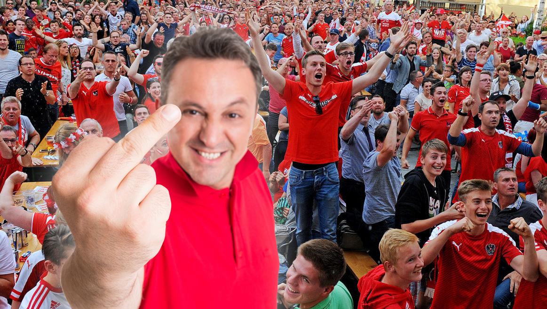 7 Typen, die uns beim Fußballschauen echt nerven  (Bild: Markus Wenzel, thinktsockphotos.de)