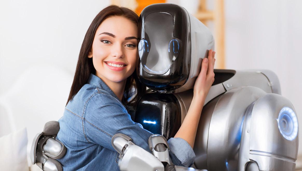 In Zukunft gehen Frauen mit Robotern ins Bett  (Bild: thinkstockphotos.de)