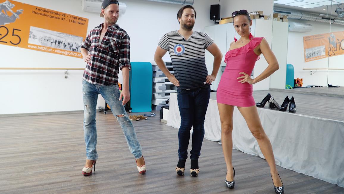 Impulstanz: Männer tragen diesen Sommer High Heels  (Bild: City4U)