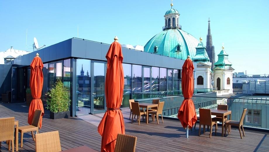 Pop up: Die schönste Rooftop-Bar der City  (Bild: Belvedere)