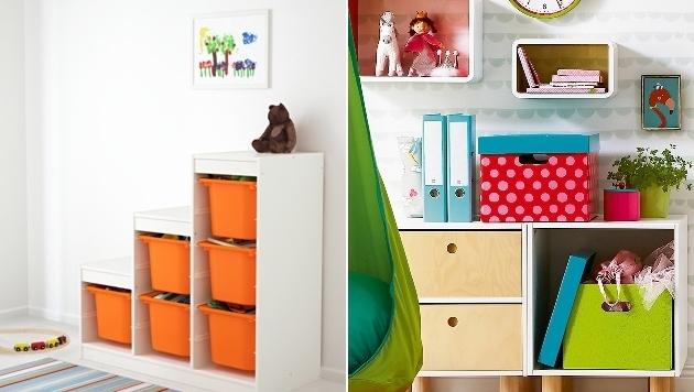 Bunte Helfer gegen das Chaos im Kinderzimmer - Spaß beim Aufräumen ...