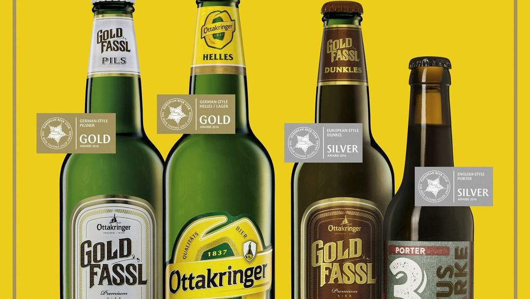 Biergeschichte: Erstmals GOLD für's 16er Blech!!  (Bild: Ottakringer)