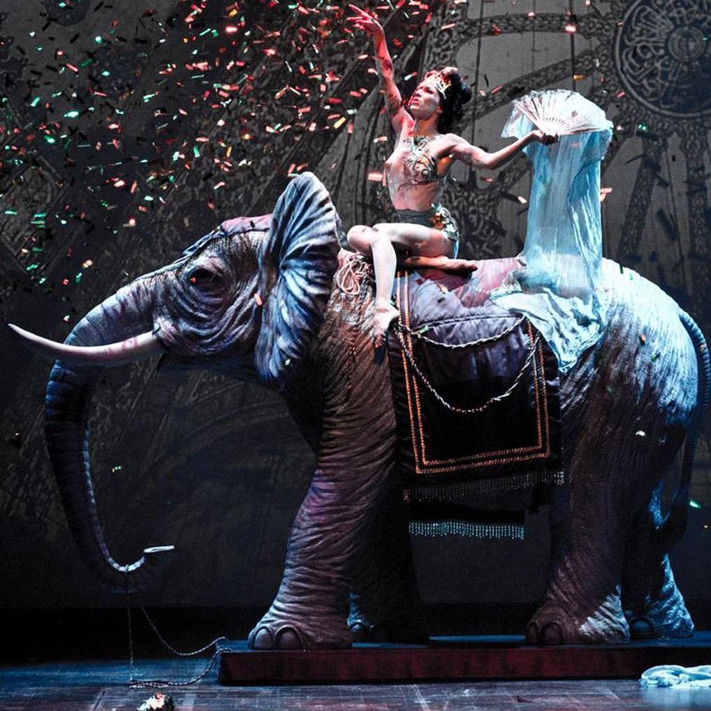 Edel: Cirque Rouge Maskenball im Volkstheater (Bild: Cirque Rouge)