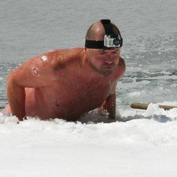 """Wiener """"Iceman"""" taut erst bei Minusgraden auf (Bild: Josef Köberl)"""