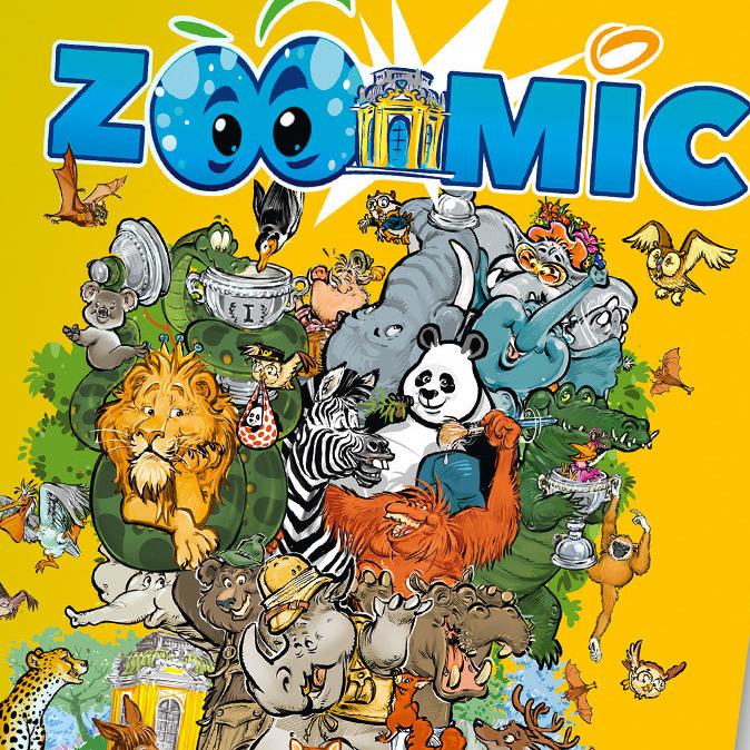 ZOOMIC: Erster Comic für Tiergarten Schönbrunn (Bild: Tiergarten Schönbrunn / Milan Ilic)