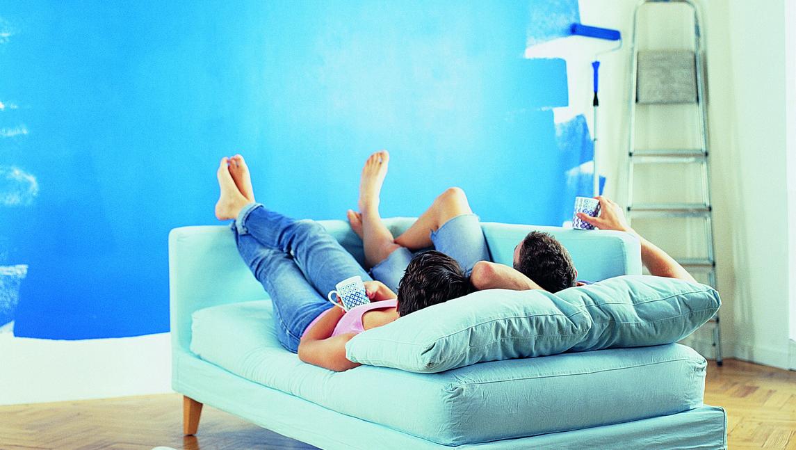 das sind die wohnfarben des fr hlings farbakzente setzen. Black Bedroom Furniture Sets. Home Design Ideas
