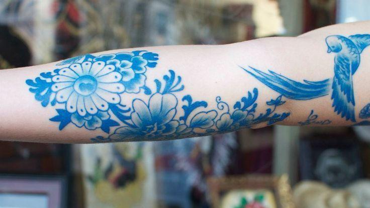 Neuer Trend: Porzellan-Tattoos (Bild: pinterest.com)