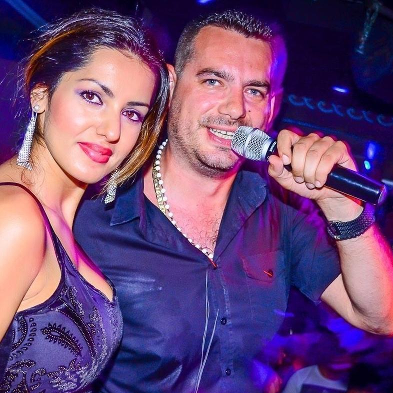Aca Lukas & Pedja Medenica live im Club Village (Bild: gdeizaci.com)