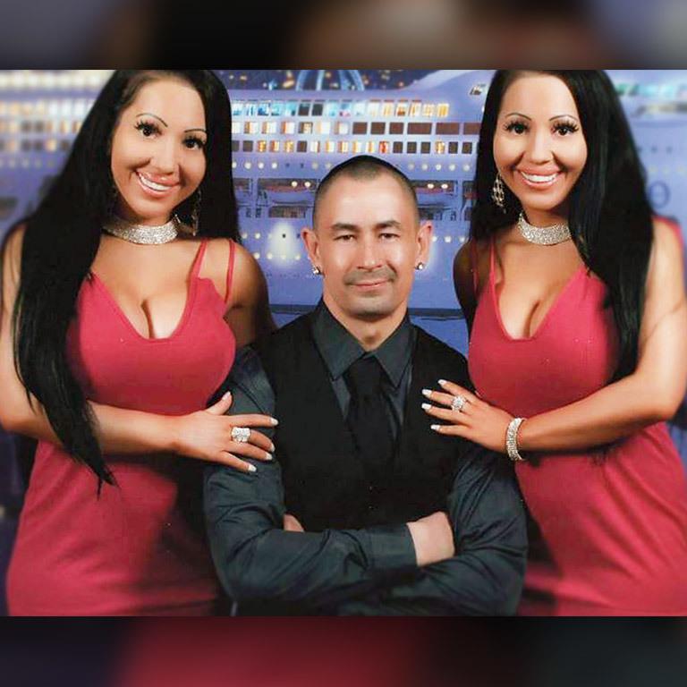 Tuning-Zwillinge teilen sich sogar den Mann (Bild: Instagram.com)