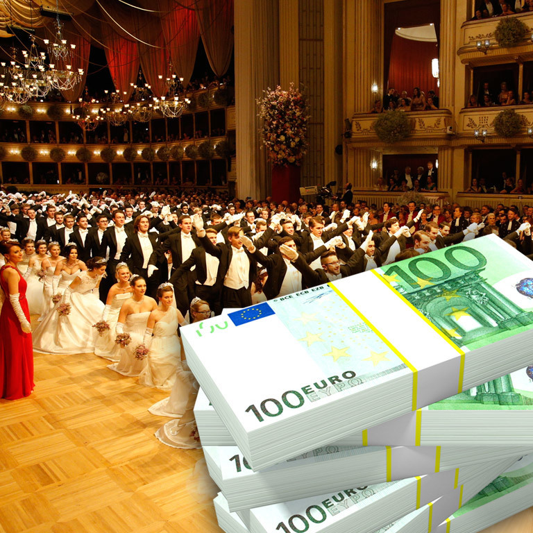Opernball: Tanz der Millionen (Bild: Holl, thinkstockphotos.de)