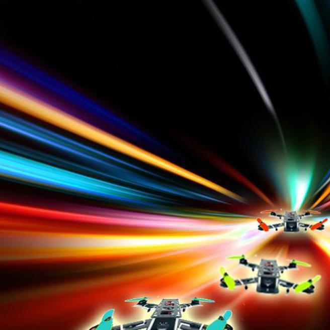 Abgefahren: Drohnen-Rennen im Football-Stadion (Bild: DRL)