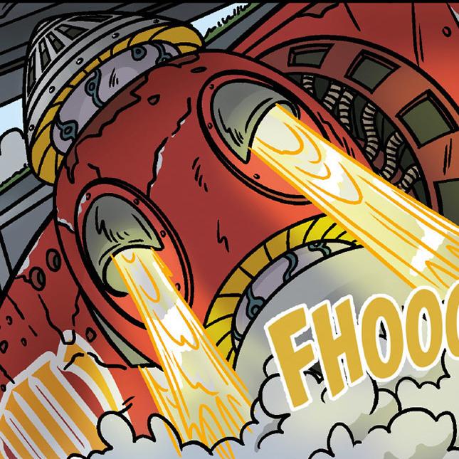 Endlich: Die Superheroes retten wieder die Stadt (Bild: ASH)