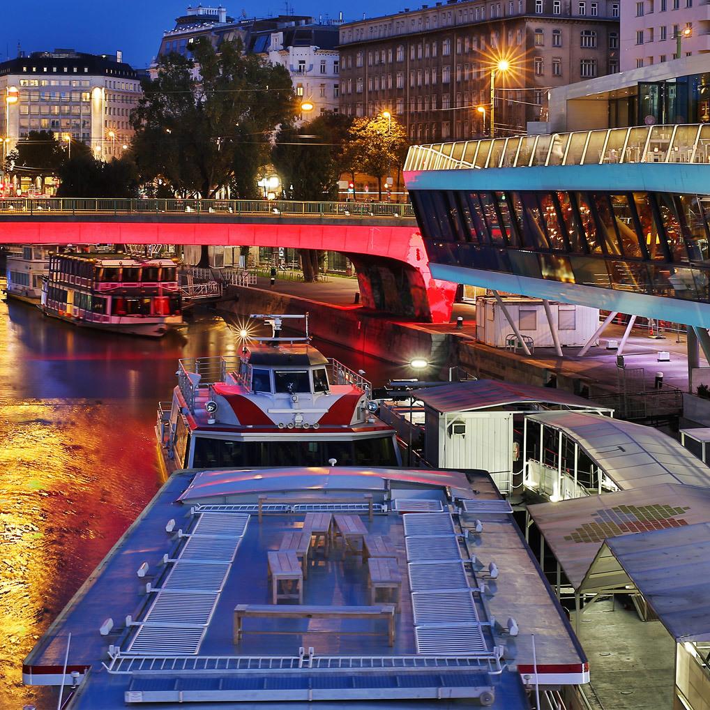 Partymeile Donaukanal: Die besten Locations! (Bild: thinkstockphotos.de)