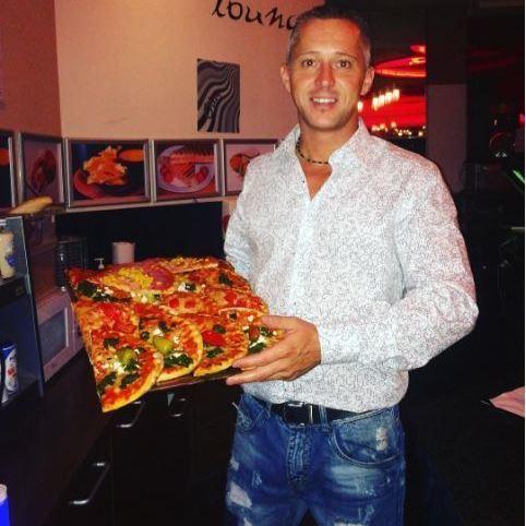Die beste Party-Pizza der City! (Bild: Snack Lounge)