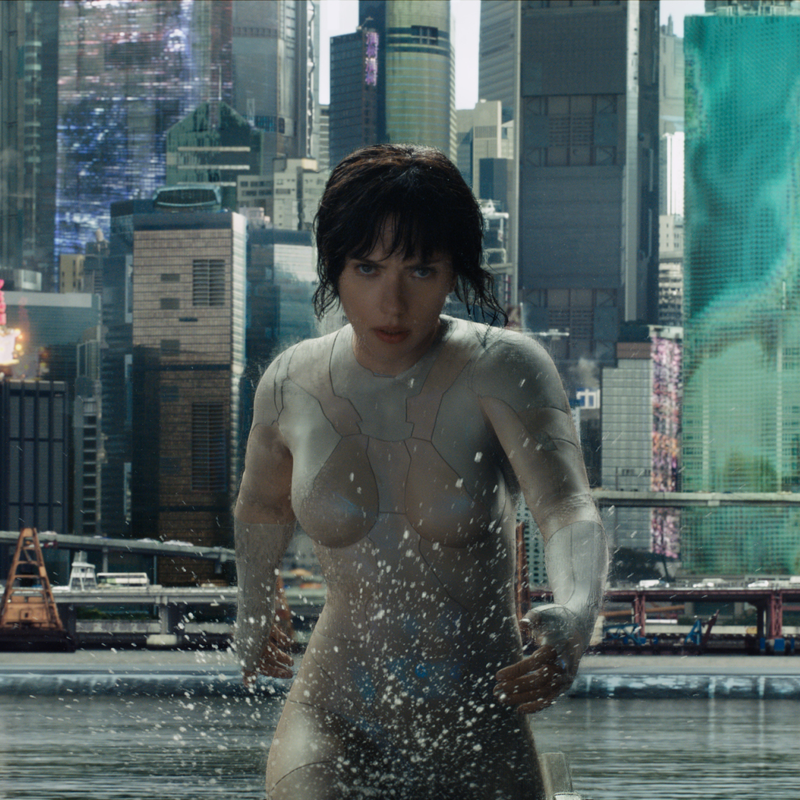"Gewinnt Tickets für ""Ghost in the Shell""! (Bild: © 2016 Paramount Pictures.)"