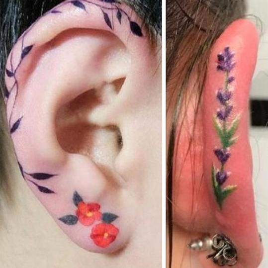 Neuer Trend: Helix-Tattoos (Bild: instagram.com)