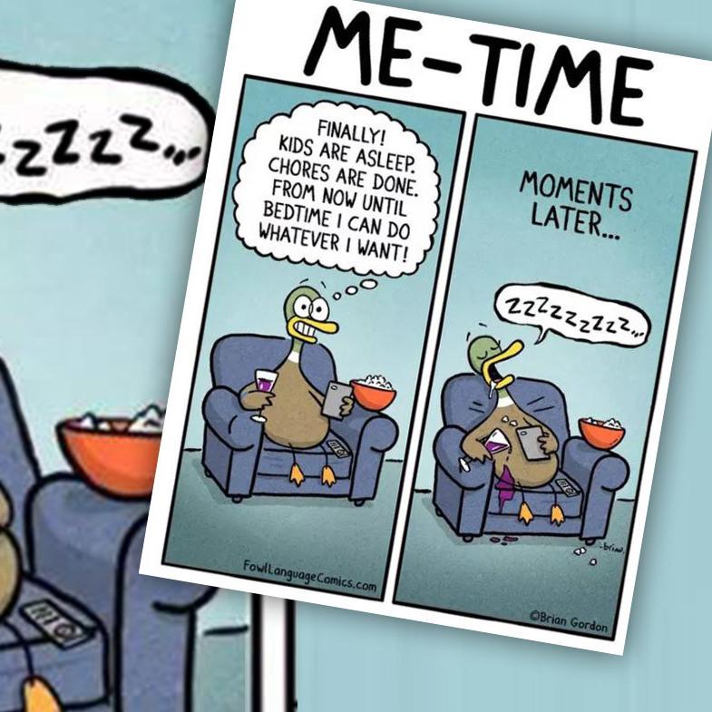 Das Eltern-Dasein als Comic: bitterböse-wahr! (Bild: fowllanguagecomics.com)