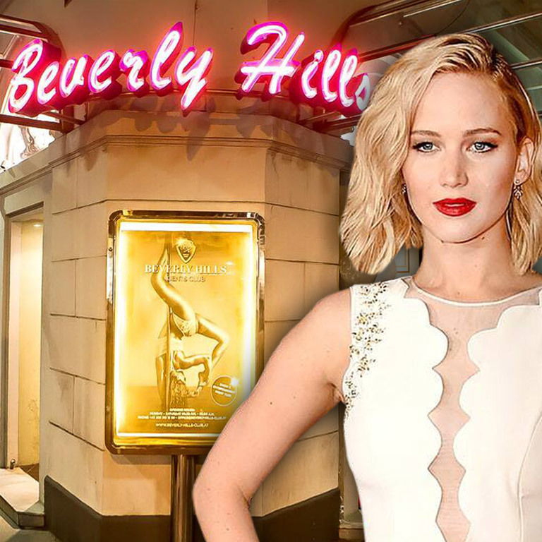 Jennifer Lawrence: Hollywood-Star strippte in Wien (Bild: Christian Mikes / Jennifer Lawrence)