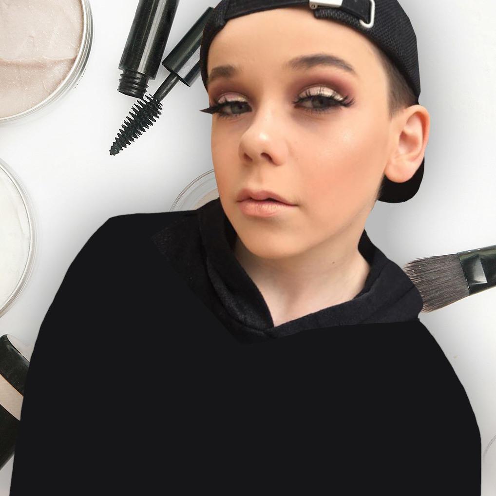10-Jähriger als Make-Up-Ikone auf Instagram (Bild: instagram.com/makeuupbyjack)