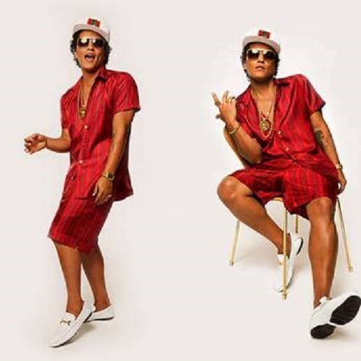 Bruno Mars live in Wien (Bild: https://www.facebook.com/brunomars/)