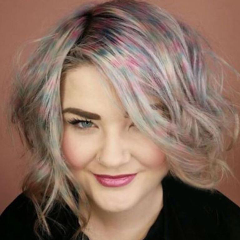 Confetti Hair: Neuer Haar-Trend erobert Instagram (Bild: instagram.com)