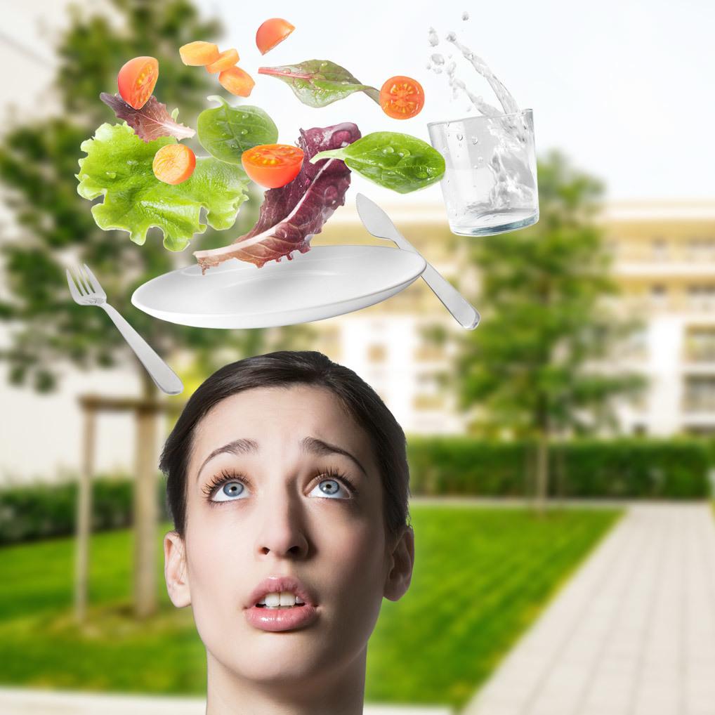 Aufruhr in Favoriten: Essen fliegt aus dem Fenster (Bild: Thinkstockphotos.de)