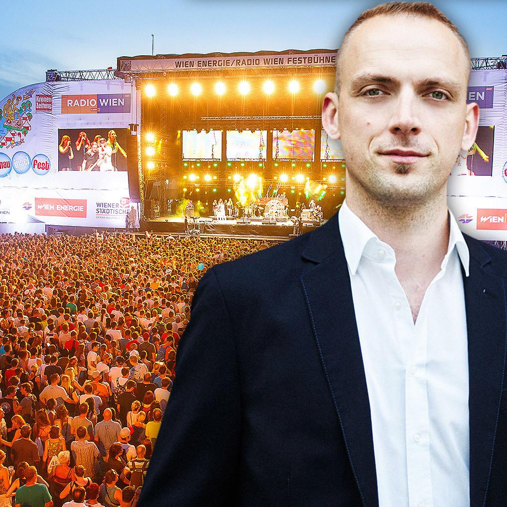 """Donauinselfest-Chef: """"Komatrinken ist out!"""" (Bild: Florian Wieser / Andreas Jakwerth)"""