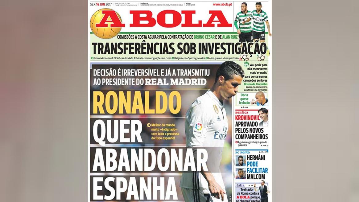 Wechsel: Für Ronaldo kommt nur dieser Club in Frage!