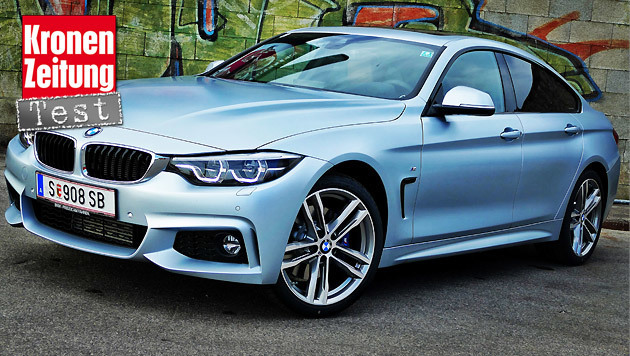 bmw 420d gran coup der bessere 3er strahlt in matt mehr auto. Black Bedroom Furniture Sets. Home Design Ideas