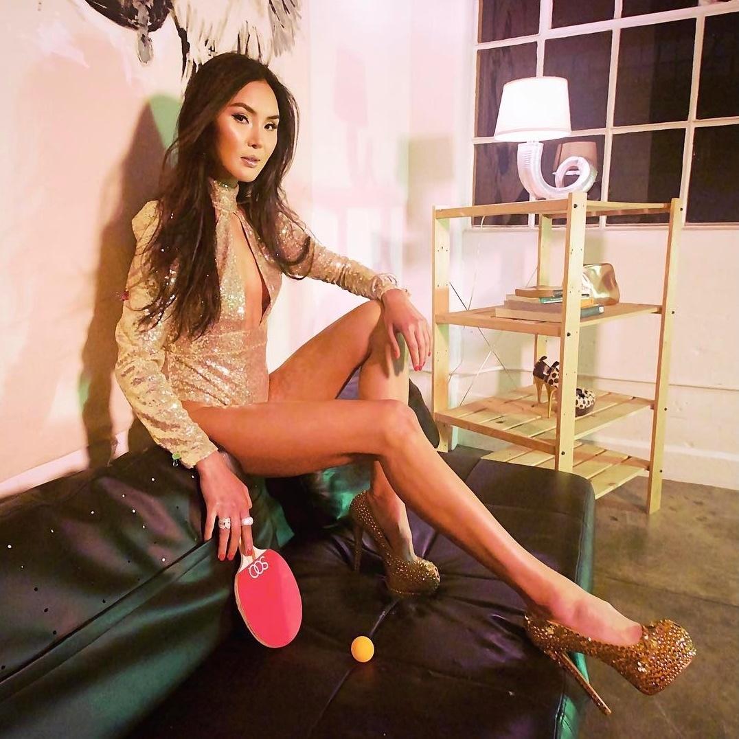 Sexy Ping-Pong-Lady sorgt für Klick-Hit im Netz (Bild: instagram.com/pingponggirl)