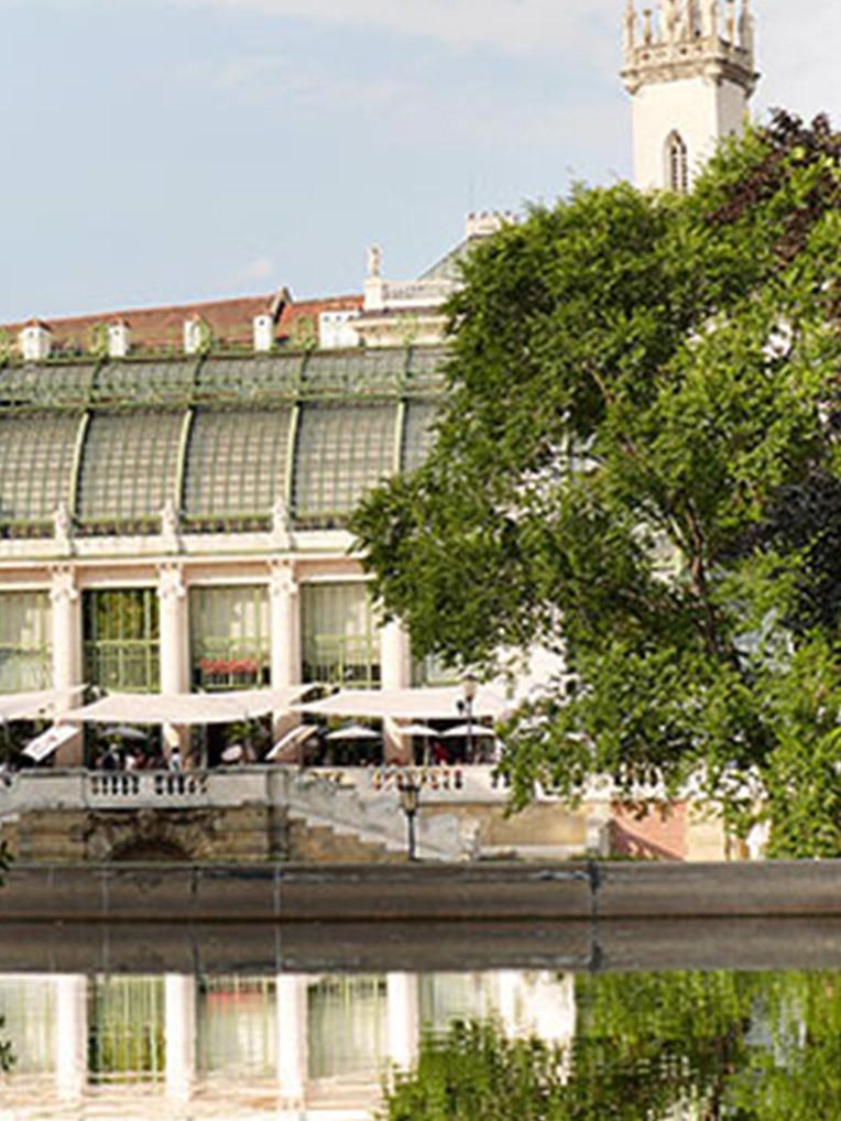 Die besten Restaurants in Wiens Parks (Bild: Burggarten)
