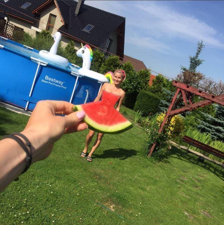 Auf Instagram trägt man Wassermelone (Bild: instagram.com/patrycjakn)