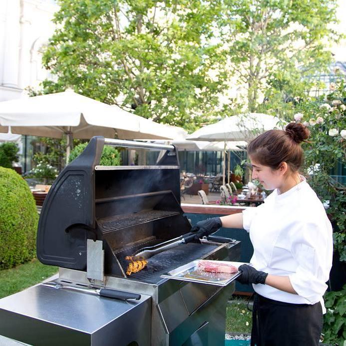 Die besten Barbecue-Lokale innerhalb des Gürtels (Bild: Clementine im Glashaus / Felicitas Matern)