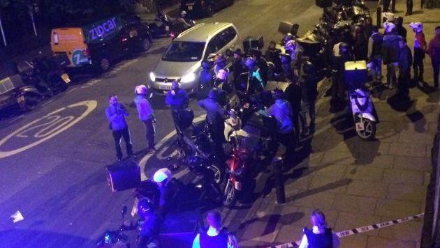 Fünf Säureangriffe in London in gut einer Stunde
