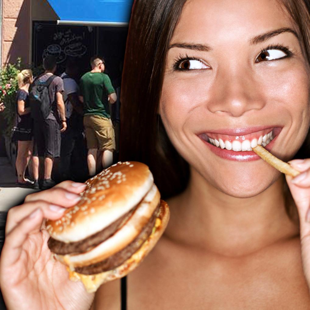 Wiener Melangerie gestürmt: Alle wollen Burger! (Bild: Magdalena Dylewska / Thinkstockphotos.de)