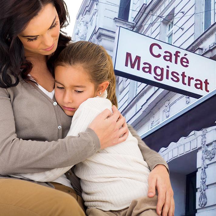 Leopoldstadt: Kaffeehaus wirft Oma mit Kind hinaus (Bild: Symbolbild (Thinkstockphotos.de/Christa K.))