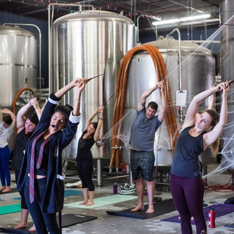 Zauberhaftes Workout: Harry-Potter-Yoga (Bild: instagram.com/circlebrew)
