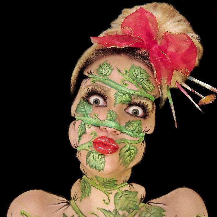 Make-up-Künstlerin sorgt für Aufsehen im Web (Bild: instagram.com/innanai)