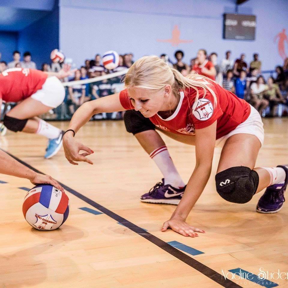 Auf Siegeskurs: Die schönen Wiener Dodgeball-Ladys (Bild: Nadine Studeny Photography)