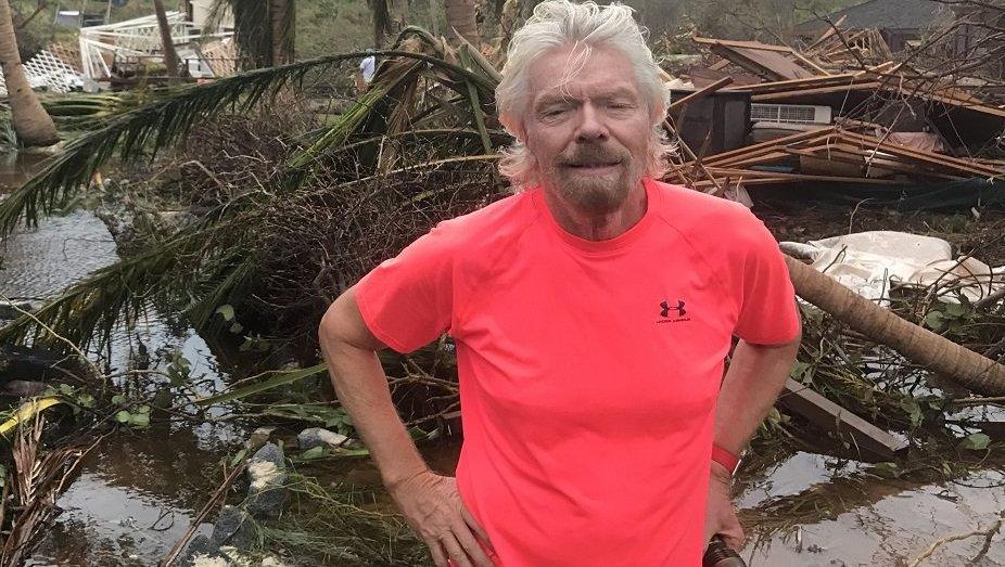 Milliardär Branson zeigt gewaltige Zerstörungen auf seiner Privatinsel