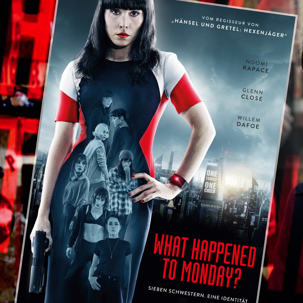 """What happened to Monday"": Mit City4U zur Premiere (Bild: What happened to Monday)"