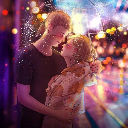 Im Netz: Maler illustriert die Schönheit der Liebe (Bild: instagram.com/poetic.persona)