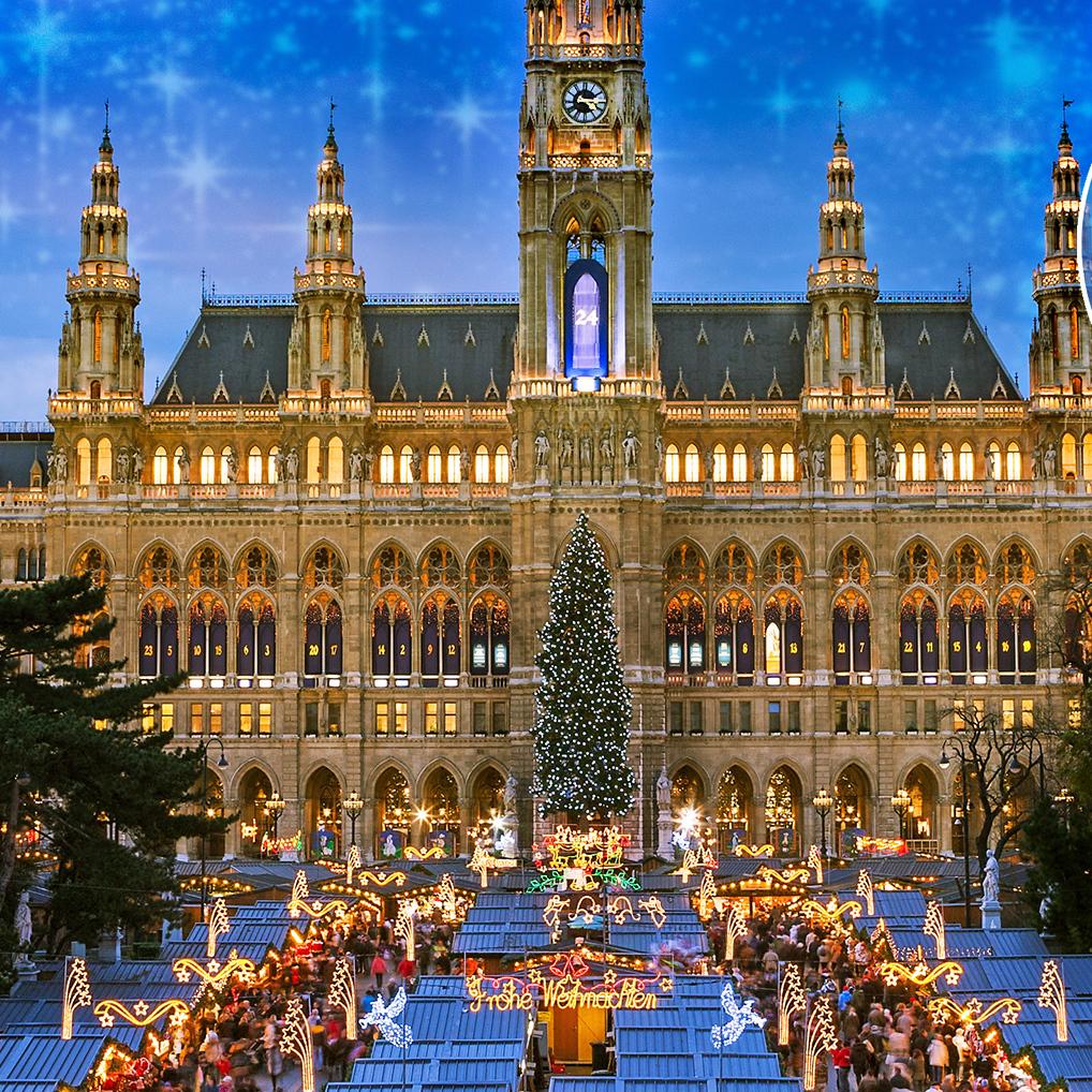 Die Wiener Christkindlmärkte öffnen ihre Pforten (Bild: stock.adobe.com)