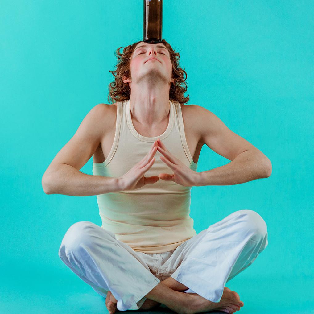 Neuen Trend Bier-Yoga gibt es nun auch in Wien (Bild: stock.adobe.com)